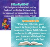 Answers Bible Curriculum Grades 2-5 Unit 1 Memory Verse Posters (2nd Edition)