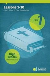 Answers Bible Curriculum High School Unit 1 Student Guide (2nd Edition)