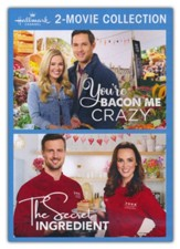Hallmark 2 Movie Collection: You're Bacon Me Crazy, The Secret Ingredient DVD