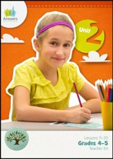 Answers Bible Curriculum Grades 4-5 Unit 2 Teacher Kit (2nd Edition)