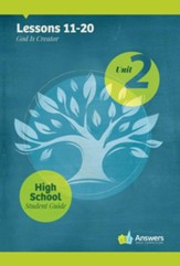 Answers Bible Curriculum High School Unit 2 Student Guide (2nd Edition)