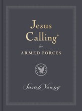 Jesus Calling for First Responders, Armed Forces