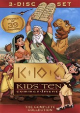 Kids' Ten Commandments, 3 DVD Set