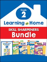 Learning at Home Skill Sharpeners  Bundle, Grade 2