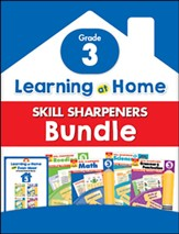 Learning at Home Skill Sharpeners Bundle, Grade 3