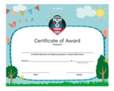 A New Song: Certificates of Award, pack of 6