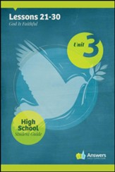 Answers Bible Curriculum High School Unit 3 Student Guide (2nd Edition)