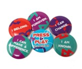 Press Play: Buttons, 12 sets of 6