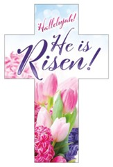 Hallelujah! He is Risen (Job 19:25, NIV) Bookmarks, 25
