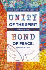 Peace in Unity Bulletins, 100