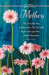 God Bless Mothers (Numbers 6:24-26, KJV) Bulletins, 100