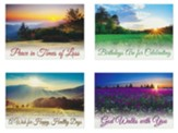 Heavenly Horizons (KJV) Box of 12 All Occasion Cards
