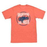 Destination Dig: Coral Jeep T-Shirt, Adult Large