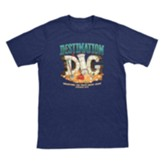 Destination Dig: Theme T-Shirt, Youth Medium