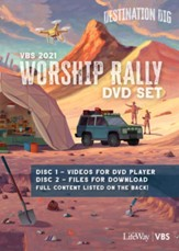 Destination Dig: Worship Rally DVD Set
