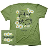 Too Many Blessings Shirt, Bright Green, Large