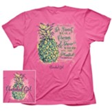 Pineapple Shirt, Pink, 3X-Large