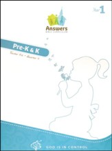 Answers Bible Curriculum, Year 1, Quarter 4 Preschool Teacher Kit with     Student Sheets