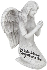 Take Life One Prayer At A Time Angel Figurine