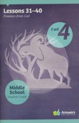 Answers Bible Curriculum Middle School Unit 4 Student Guide (2nd Edition)