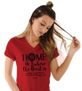 Home Windmill Shirt, Red, 3X-Large