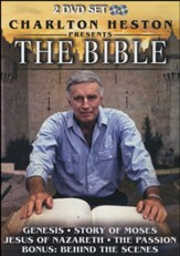 Charlton Heston Presents The Bible, 2 DVD Set
