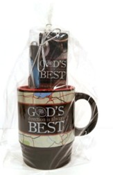 God's Direction Is Always Best, Mug, Pen and Bookmark Gift Set