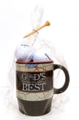 God's Direction Is Always Best, Mug and Golf Ball Gift Set