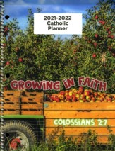 God's Word in Time Scripture Planner: Growing in Faith  Colossians 2:7 Elementary Student Edition (NAB Version;  August 2021 - July 2022)