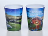 Christ the Savior Plastic Tumbler