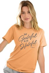 Too Grateful Shirt, Orange, 3X-Large