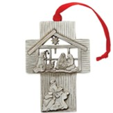 Christ the Savior is Born, Cross, Ornament