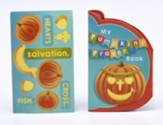 Pumpkin Shaped Accordion-Fold Booklet and Stickers