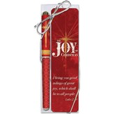 The Joy of Christmas Pen and Bookmark Gift Set