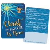 Christ the Savior is Born Card Pin with Card