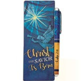 Christ the Savior is Born Pen & Jumbo Bookmark Gift Set