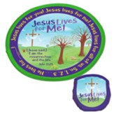 Jesus Lives for Me! Flying Disc and Nylon Pouch