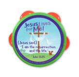 Jesus Lives for Me! Tambourines, 6 Pack