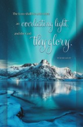 Blue Mountain Everlasting Light (Isaiah 60:19, KJV) Bulletins, 100