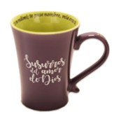 Surruros del amor de Dios, taza  (Whispers of God's Love Mug, Spanish)