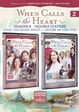 When Calls the Heart: What the Heart Wants/Before My Very Eyes Double Feature DVD