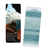 The Lord Is My Rock Jumbo Bookmark