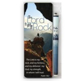 The Lord Is My Rock Pen and Jumbo Bookmark Set