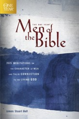 The One Year Men of the Bible: 365 Meditations on Men of Character - eBook