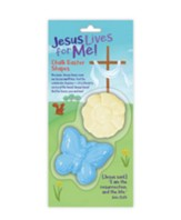 Jesus Lives for Me! Chalk, Easter Shapes, 2 Pieces