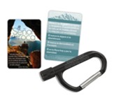 The Lord Is My Rock Carabiner with Mini Flashlight, Spanish