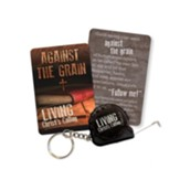 Against the Grain Tape Measure Keychain, KJV