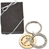 Matthew 25:21, Pewter Key Chain