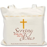 1 Thessalonians 1:2, Tote with Split Front Pocket
