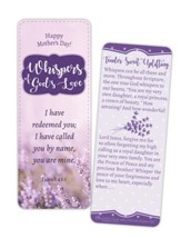 Whispers of God's Love Mother's Day Jumbo Bookmark